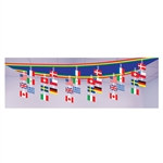 International Flag Ceiling Decoration