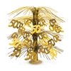 Celebrate your 50th in style with this 50th Cascade Centerpiece in Gold.  This easy to assemble cascade will add classic color design and interest to your arrangements and table tops.  A full 18 inches tall, it's reusable with care.