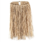 Child Value Raffia Natural Hula Skirt