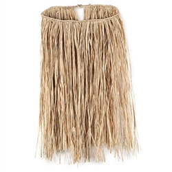 Value Raffia Hula Skirt (Teen Natural)