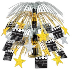 Movie Set Clapboard Cascade Centerpiece