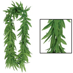 Tropical Fern Leaf Lei (1/pkg)