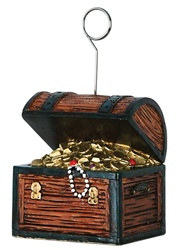 Treasure Chest Photo/Balloon Holder