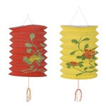 Decorated Chinese Lanterns