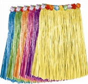 Assorted Adult Artificial Grass Hula Skirt