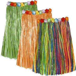 Adult Artificial Grass Hula Skirts (Select Color)