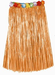 Adult Artificial Grass Hula Skirt (Natural)