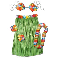 Complete Hula Outfit (Adult)