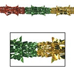 Multi-Color Metallic Garland, 8 in