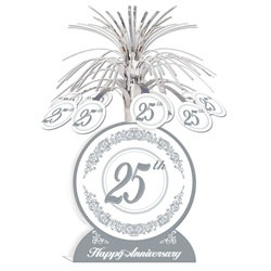 25th Anniversary Centerpiece