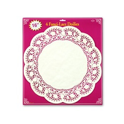 Paper Lace Doilies, 16 in  (4/Pkg)