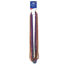 Party Beads - Small Round