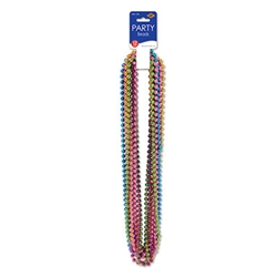 Brite Party Beads (12/pkg)