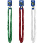 Christmas Party Beads - Select Color (12/pkg)