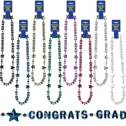 Congrats Grad Beads-Of-Expression (Select Color)