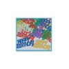 Multi-Color Happy Birthday Fanci-Fetti (1/2oz/pkg)