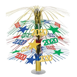 Get set for 2020 and ring the new year in in style with our colorfully fun 2020 Cascade Centerpiece.  They'll look great on your table and make fun door prizes!
