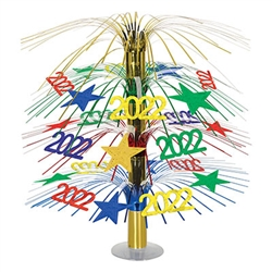 2022 will be here before you know it, plan your New Year's Eve celebration now.  Adding this colorful and kinetic 2021 Cascade Centerpiece to your decor could be one of the best decisions of 2021!