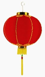 Chinese Lantern w/Tassel, 12 in