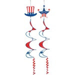 Patriotic Wind-Spinner (1/pkg)