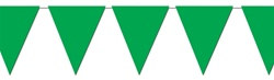 Green Indoor/Outdoor Pennant Banner, 12 ft