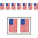 Outdoor American Flag Banner