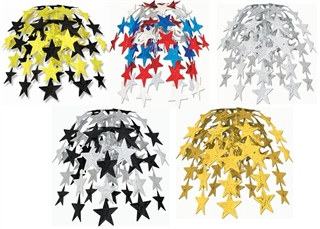 Hanging Star Cascade (Choose Color)
