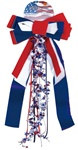 Patriots Pride Ribbon, 12in x 27in (1/pkg)