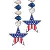 Patriotic Star Danglers