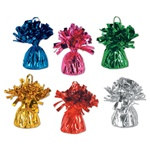 Assorted Metallic Wrapped Balloon Weight