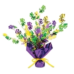 Mardi Gras Gleam N Burst Centerpiece