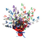 40th Gleam N Burst Centerpiece (Multicolor)