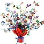 60th Gleam N Burst Centerpiece (Multicolor)