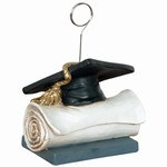 Grad Cap Diploma Photo/Balloon Holder