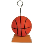 Basketball Polystone Photo/Balloon Holder