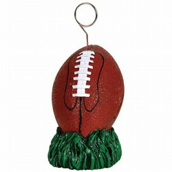 Football Polystone Photo/Balloon Holder