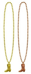 Cowboy Boot Medallion Beads (2/pkg)
