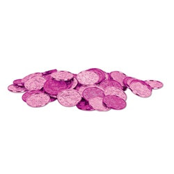 Pink Plastic Coins