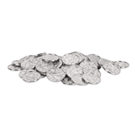 Plastic Silver Coins