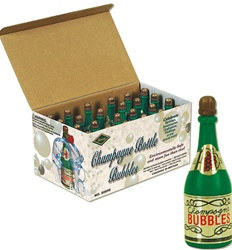Champagne Bottle Bubbles (24/Box)