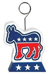 Democrat Donkey Photo/Balloon Holder