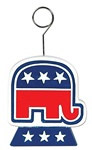 Republican Elephant Photo/Balloon Holder