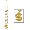 Casino Beads with Dollar Sign Medallion (1/pkg)
