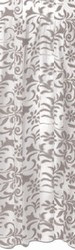 Silver Plastic Lace Table Skirting