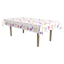 Princess Plastic Rectangular Tablecover