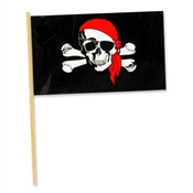 Plastic Pirate Flag