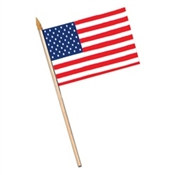 Rayon American Flag (4 in x 6 in)