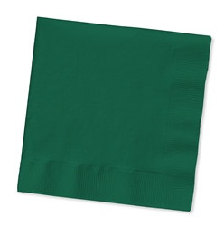 Hunter Green Lunch Napkins (50/pkg)