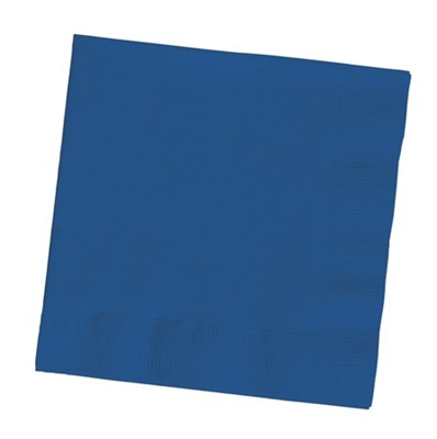 Navy Lunch Napkins (50/pkg)