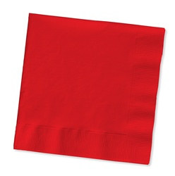 Red Lunch Napkins (50/pkg)